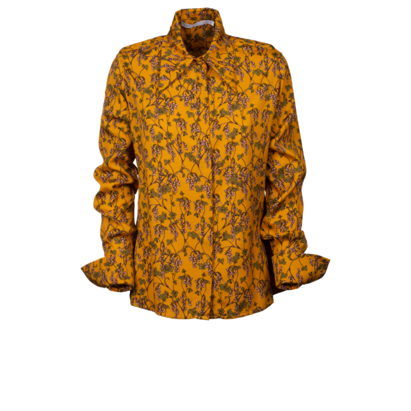 Floral shirt in pure viscose - still
