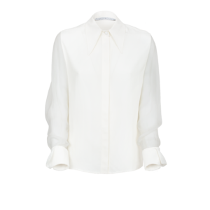 Shirt in silk crepe de chine - still